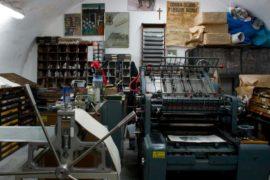 Macchina Artigianle Tipografica