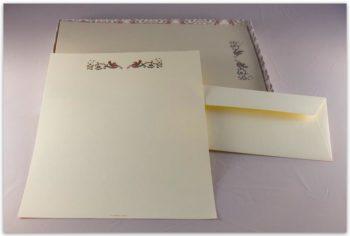Carta Da Lettere Fabriano Decorazione Ippogrifo
