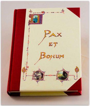 Quaderno Pax Et Bonum, 144 Fogli