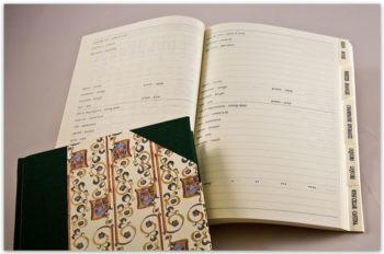 Quaderno Vini, Tela E Carta