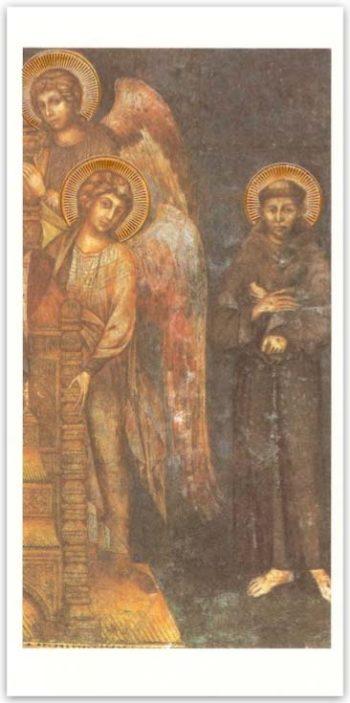 Biglietto Cimabue, Madonna Col Bambino, Angeli E S. Francesco