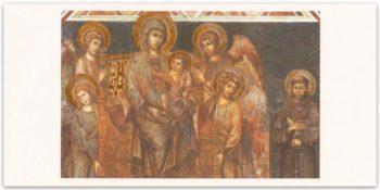 Biglietto Lorenzetti, Madonna Col Bambino