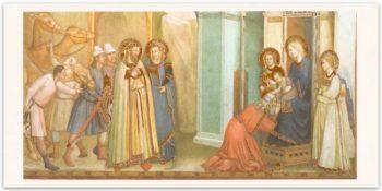 """Biglietto Giotto """"Adorazione Dei Magi"""""""