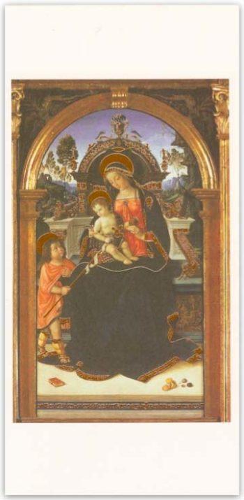 Biglietto Pala Di S.Maria Dei Fossi