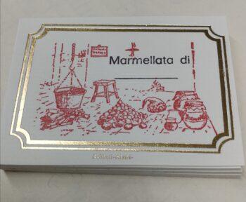 Etichette Adesive Marmellata
