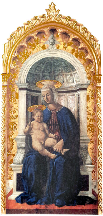 Biglietto Piero Della Francesca, Polittico Di S.Antonio (part.)