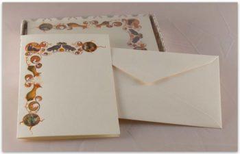 Biglietti A Libro Carta Fedrigoni Decorazione 3 Natività