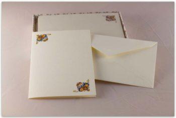 Biglietti A Libro Carta Fedrigoni Decorazione Vetrina