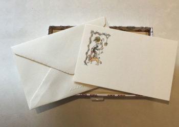 Biglietti Singoli Carta Fedrigoni Decorazione Leone