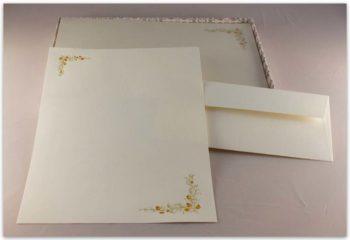 Carta Da Lettere Fedrigoni Decorazione Ghiande