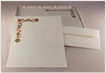 Carta Da Lettere Fedrigoni Decorazione 3 Natività