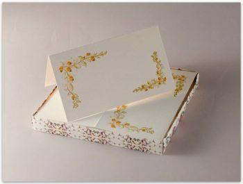 Segnaposti Carta Fedrigoni Decorazione Ghiande