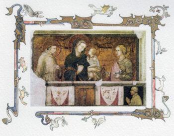 Biglietti Lorenzetti  Assisi Basilica Di San Francesco